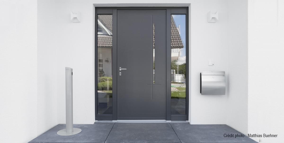 Portes Dentrées GAM PROTECTION Fenêtre Aluminium ROMAINVILLE - Protection porte d entrée